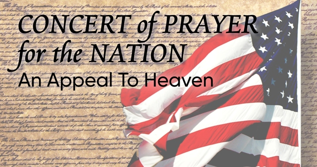 Concert of Prayer for the Nation - Beach Service - 7:30AM