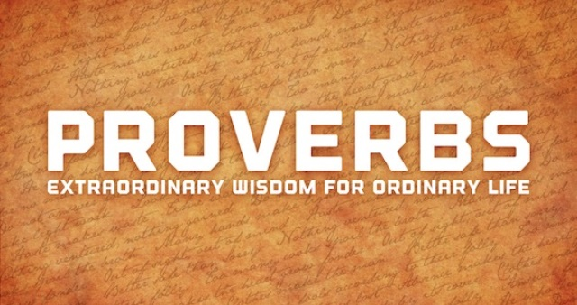 Proverbs for President and Pauper - 11AM Full Service